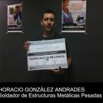 Horacio González obtiene el Título de Mérito Académico