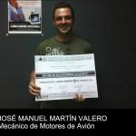 José M. Martín obtiene el Título de Reconocimiento Académico