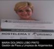 María D. Lobo obtiene el Título de Mérito Académico