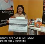Nancy E. Carrillo obtiene el Título de Reconocimiento Académico