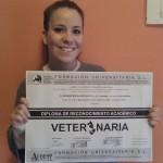 Desiree Regalado obtiene el Título de Reconocimiento Académico