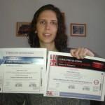 María Gómez obtiene el Título de Formación Universitaria