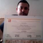 José Femenia obtiene el Título de Formación Universitaria