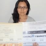 Nelly Posaico obtiene el Título de Formación Universitaria
