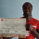 José Gil obtiene el Título de Formación Universitaria