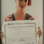 Francesca Astley obtiene el Título de Formación Universitaria