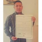 Ángel E. Caraguay obtiene en Título de Formación Universitaria
