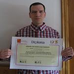 Jose Ramón Conde obtiene el Título de Formación Universitaria