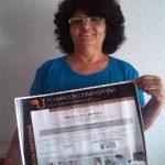 Edita Sebastiana Peña obtiene el Título de Formación Universitaria